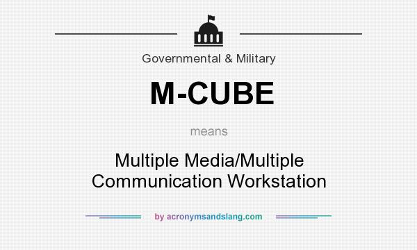 What does M-CUBE mean? It stands for Multiple Media/Multiple Communication Workstation