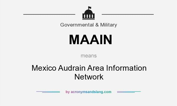 What does MAAIN mean? It stands for Mexico Audrain Area Information Network