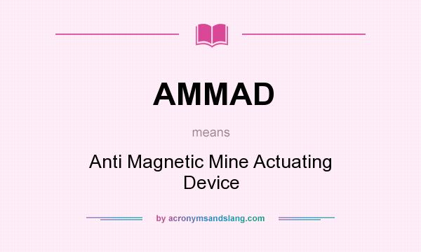 what does ammad mean definition of ammad ammad stands for anti