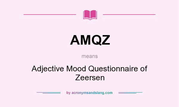 What Does Amqz Mean Definition Of Amqz Amqz Stands For