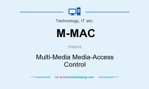 What does M-MAC mean? It stands for Multi-Media Media-Access Control