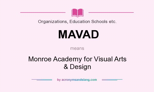 What Does Mavad Mean Definition Of Mavad Mavad Stands For