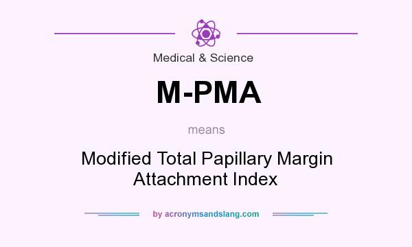 What does M-PMA mean? It stands for Modified Total Papillary Margin Attachment Index