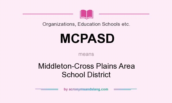 What Does Mcpasd Mean Definition Of Mcpasd Mcpasd Stands For