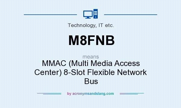What does M8FNB mean? It stands for MMAC (Multi Media Access Center) 8-Slot Flexible Network Bus
