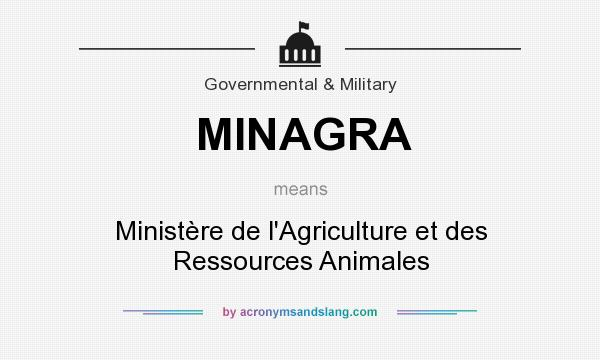 What does MINAGRA mean? It stands for Ministère de l`Agriculture et des Ressources Animales