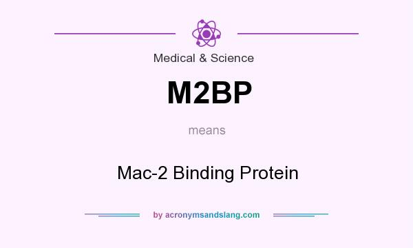 What does M2BP mean? It stands for Mac-2 Binding Protein