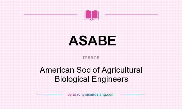 asabe guide