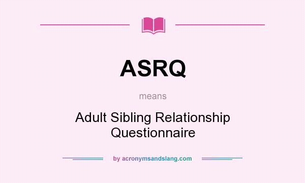 Adult relationship sibling