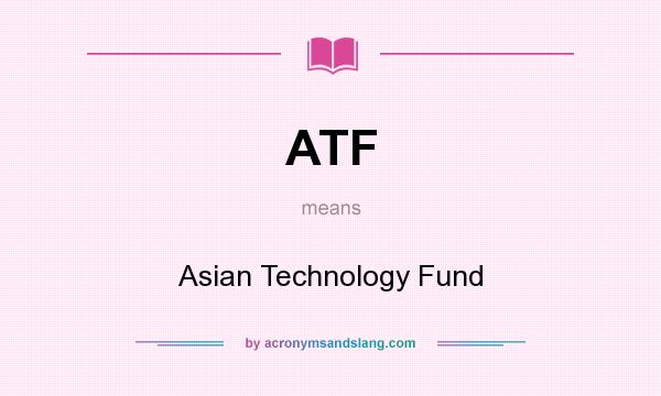 Asian technology fund