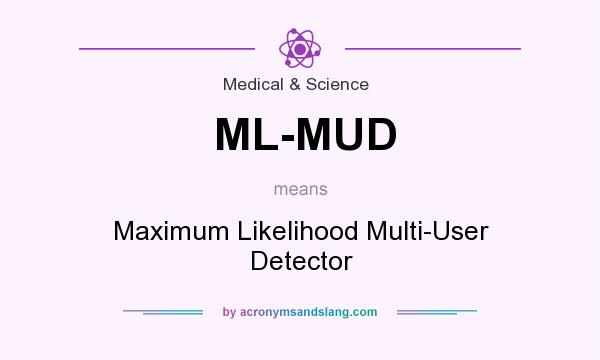 What does ML-MUD mean? It stands for Maximum Likelihood Multi-User Detector