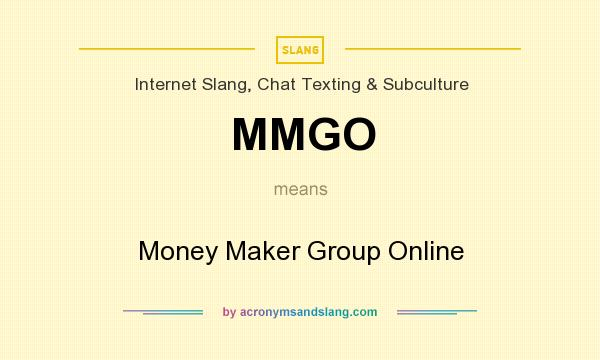 What does MMGO mean? - Definition of MMGO - MMGO stands for