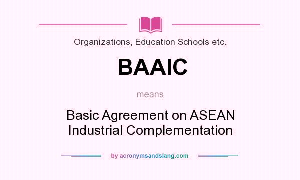 What Does Baaic Mean Definition Of Baaic Baaic Stands For Basic