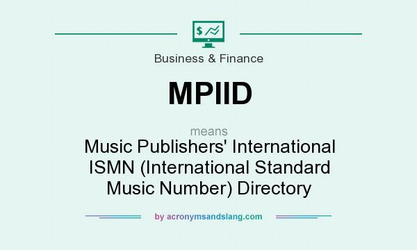 What does MPIID mean? - Defini...