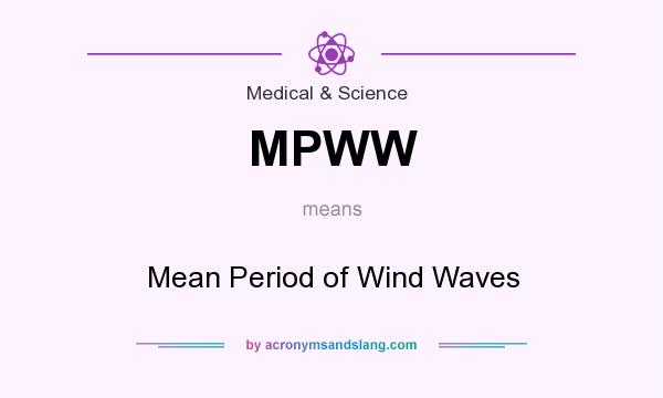 What does MPWW mean? It stands for Mean Period of Wind Waves