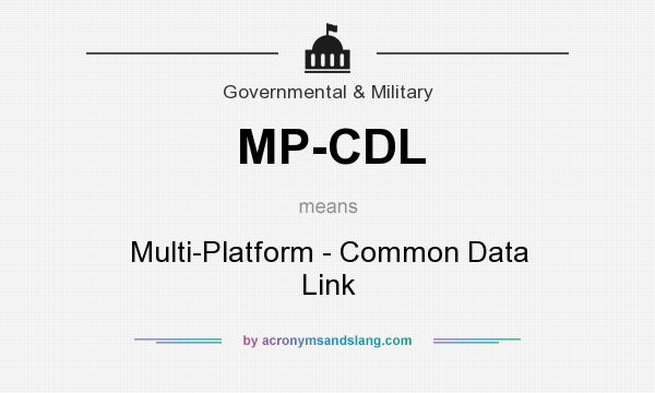 What does MP-CDL mean? - Definition of MP-CDL