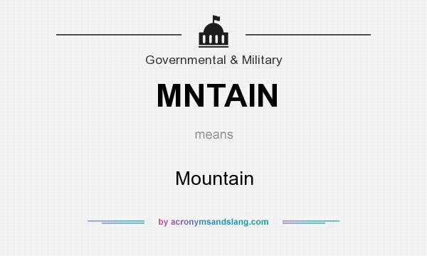 What does MNTAIN mean? It stands for Mountain