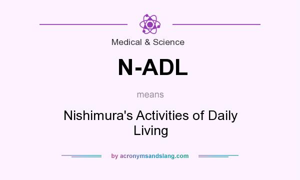 What does N-ADL mean? It stands for Nishimura`s Activities of Daily Living