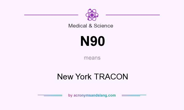 What does N90 mean? It stands for New York TRACON