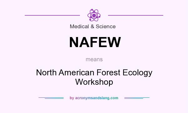 What does NAFEW mean? It stands for North American Forest Ecology Workshop