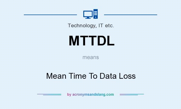 what does mttdl mean definition of mttdl mttdl stands for mean