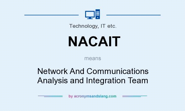 What does NACAIT mean? It stands for Network And Communications Analysis and Integration Team