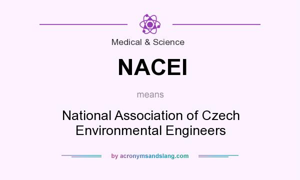 What does NACEI mean? It stands for National Association of Czech Environmental Engineers