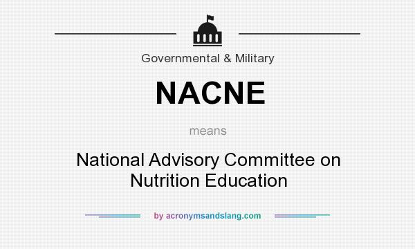 NACNE - National Advisory Committee on Nutrition Education ...