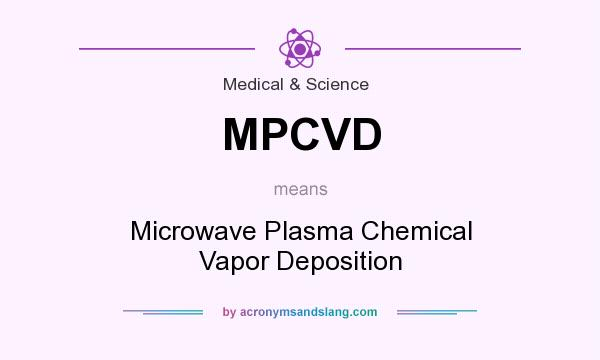 What does MPCVD mean? It stands for Microwave Plasma Chemical Vapor Deposition