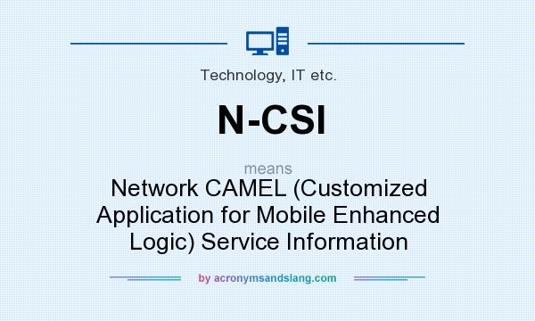What does N-CSI mean? It stands for Network CAMEL (Customized Application for Mobile Enhanced Logic) Service Information
