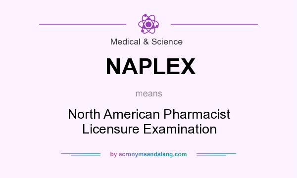What does NAPLEX mean? It stands for North American Pharmacist Licensure Examination