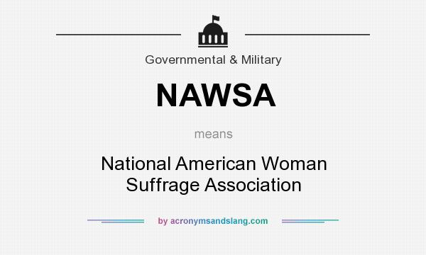 national american woman suffrage association definition