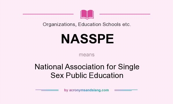 Definition of single sex education