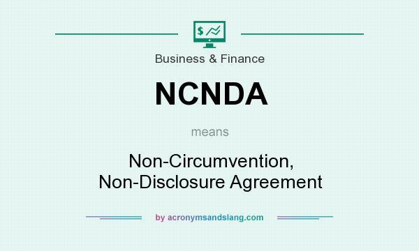 Ncnda Non Circumvention Non Disclosure Agreement In