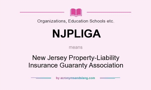 New Jersey Property Liability Insurance Guaranty Association
