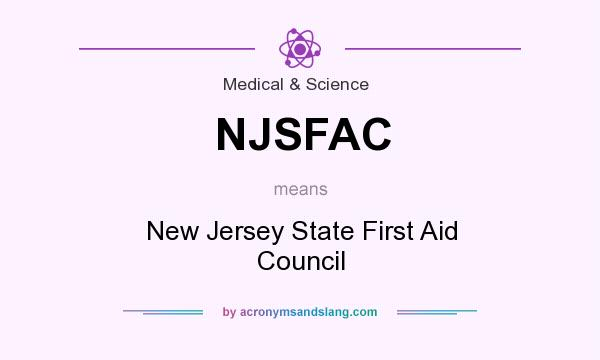 What does NJSFAC mean? It stands for New Jersey State First Aid Council