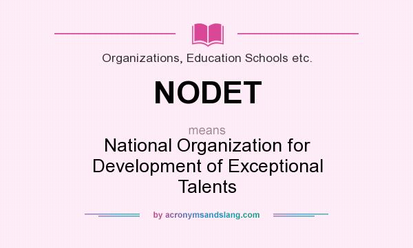 National Organization for Development of Exceptional Talents