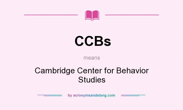 Behaviororg  Cambridge Center for Behavioral Studies