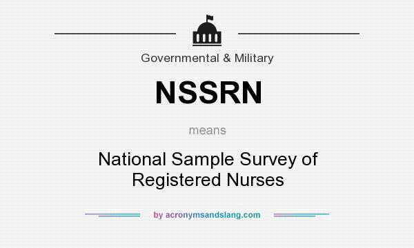 What does NSSRN mean? - Definition of NSSRN - NSSRN stands for ...