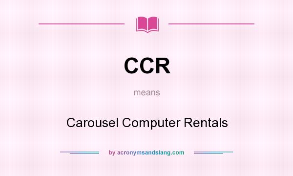 what does carousel mean