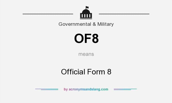 What does OF8 mean? - Definition of OF8 - OF8 stands for Official ...