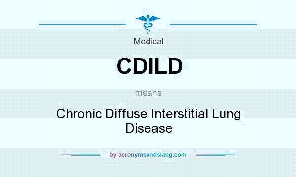 interstitial lung disease meaning