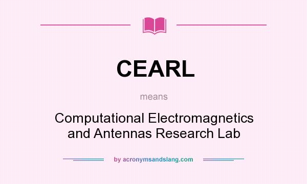 What does CEARL mean? - Definition of CEARL - CEARL stands for