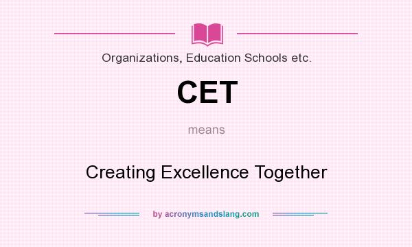 Creating a school of excellence