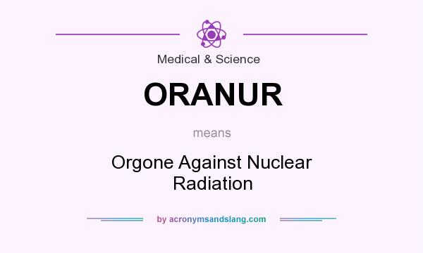 Nuclear Radiation Definition