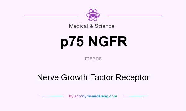 What does p75 NGFR mean? It stands for Nerve Growth Factor Receptor