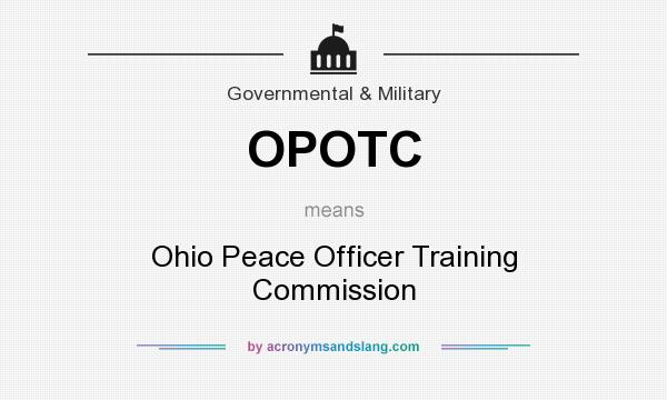 OPOTC - Ohio Peace Officer Training Commission in Government ...