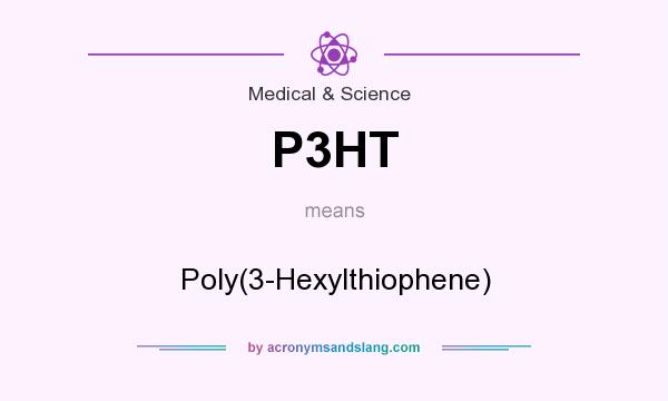 What does P3HT mean? It stands for Poly(3-Hexylthiophene)