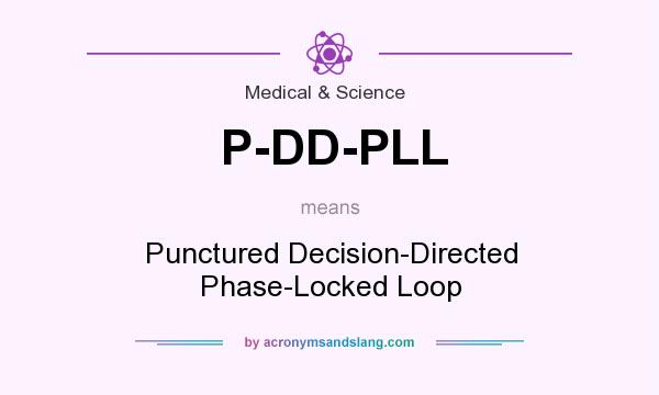 What does P-DD-PLL mean? It stands for Punctured Decision-Directed Phase-Locked Loop