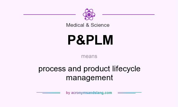 What does P&PLM mean? It stands for process and product lifecycle management